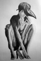 stormcrow graphite by slinkyskinked