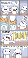 Thanks, TRUMP by theodd1soutcomic