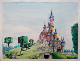 Disneyland Paris by Rayluaza