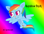 Rainbow Dash in HTF by Elica1994