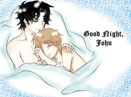 Sherlock BBC : Good Night, John by RuiTako