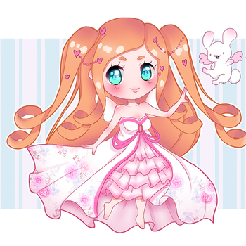Adoptable- Lovely angel - CLOSED by RhapsodyTales