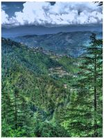 Shimla in HDR - 2 by Swaroop