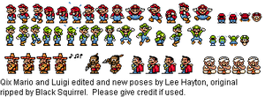 Qix Mario edits. by Lee-At-Arms