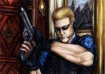 S.T.A.R.S. Wesker for Irenei by SassySas-777