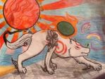 Okami Amaterasu by xPuRfectDiSastRx