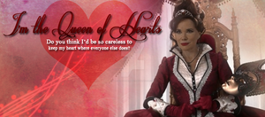 Cora, Queen of Hearts by blackhavikgraphics