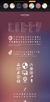 Gentle Edges (1000 Vector Icons) by sandracz