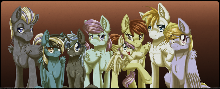 Kicker Family Portrait by InuHoshi-to-DarkPen