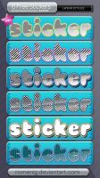 Cool Stickers Layer Styles by Romenig