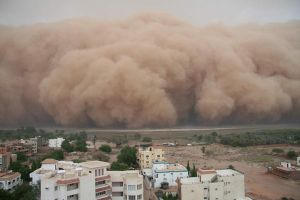 haboob over the nile by donkeypunchmurphy