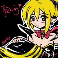 .peaceful rosary. by tira-chan