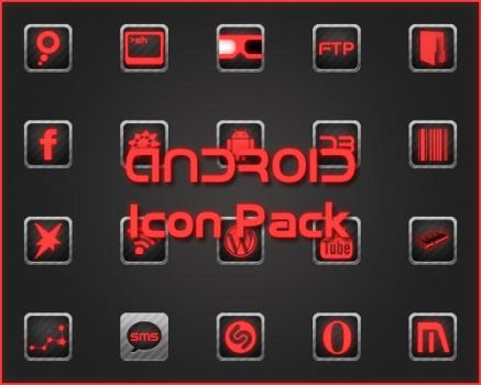 Carbon Icon Pack by gmadzl