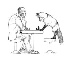 The Fox and the Physicist by portablecity