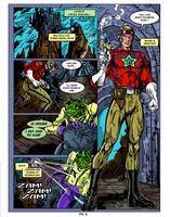 Buck Rogers Fan comic page 2 Colors by CapitalComicsStudios