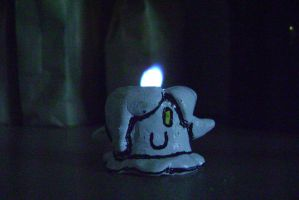 lil' Litwick burning bright! :) by The-End-Inc