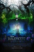 Maleficent (2014) - Poster by CAMW1N