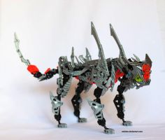 Bionicle MOC: Cheetah by Rahiden