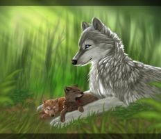 A Mother's Touch by Tarkahvarg