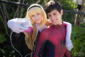 Hey, Spidey! SELFIE! by RachniQueen
