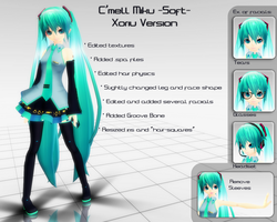 C'mell Miku -Soft- Xoriu Version DL by Xoriu