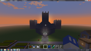 minecraft castle by Heavenly-Warrior-AD
