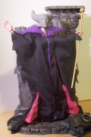 Maleficent Custom Doll by cbgorby
