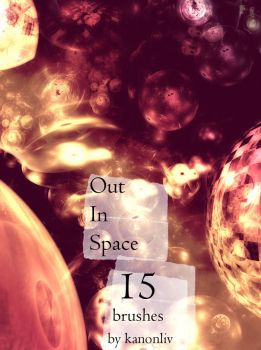 Out In Space Brushes by kanonliv