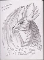 Nellie the dragon by dragon-man13