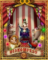 DISKOMFEST 3 by macarious