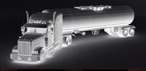American_Truck_wireframe by S-L-A-V-A
