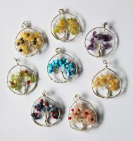Sterling Silver Tree Pendants by BumbleBeeFairy