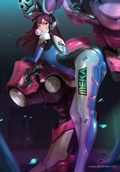 Dva-OverWatch by o-pan