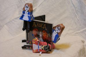 American McGee's Alice (Normal + Pyro Variation) by Chentzilla