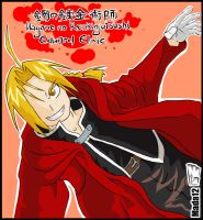 Edward Elric Color by Mada12