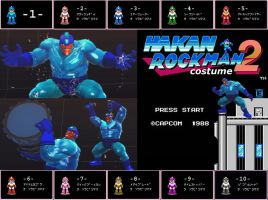 SSF4AE HAKAN Megaman costume MOD by dsFOREST