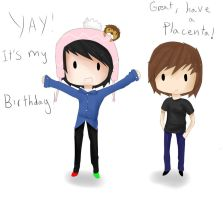 Happy birthday AmazingPhil! by flashsteps