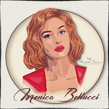 Monica Bellucci by ahmedwww211