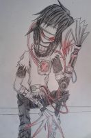 Jeff the killer (Mecha version) by DarkAleXD