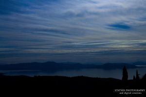 Tones of Blue by Stathis