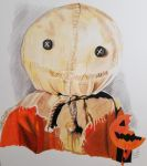 Sam from Trick 'R Treat. by Artistic-Imagery