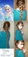 Frozen Braid Elsa by Katerina-Art