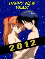HAPPY NEW YEAR 2012 by GrummanCat