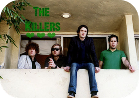 The Killers on a balcony by MissArkhamAngel