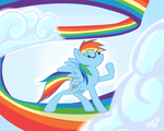 Rainbow Dash by Xieril