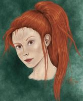 Ginny with Ponytail by VanishingShmink