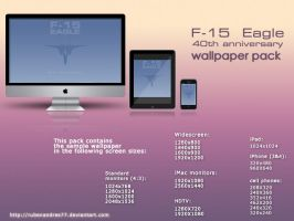 F-15 Eagle wallpaper pack by Rubenandres77
