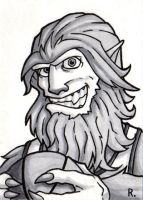Teen Wolf Sketchcard by TheRigger
