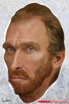 Vincent van Gogh real by mataleoneRJ