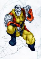 X-men - COLOSSUS Color by YannWeaponX